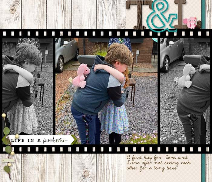 Chrissy Scrapbook Page