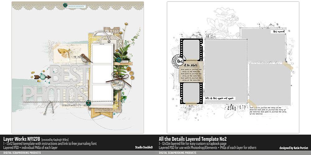 Katie Pertiet Designs Templates