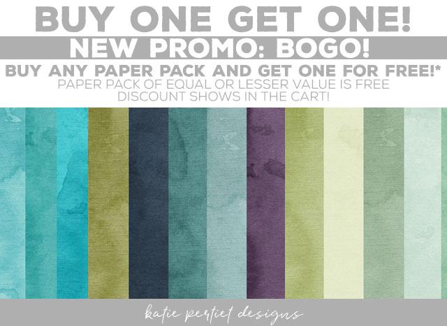 Katie Pertiet Designs Paper Packs