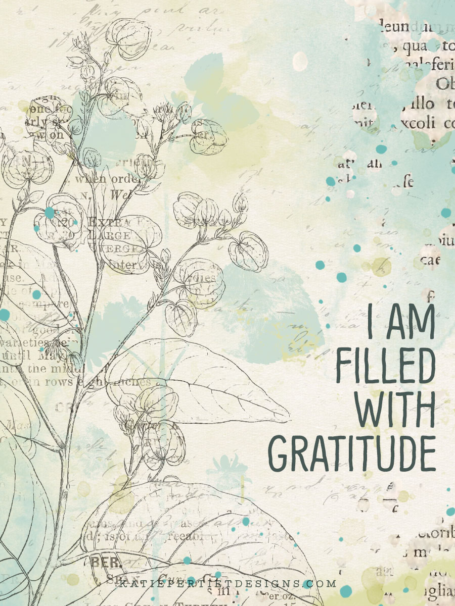Katie Pertiet Designs 30 Days of Gratitude