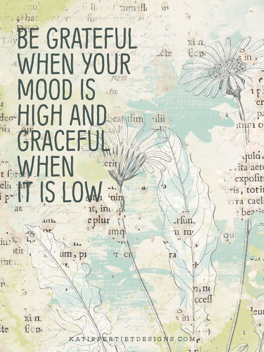 30 Days of Gratitude : Day 18