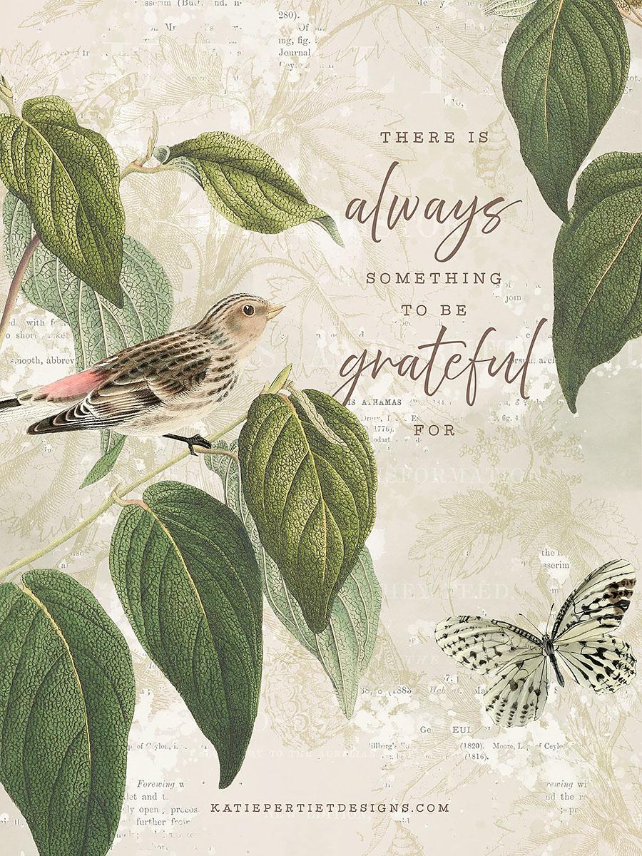 Katie Pertiet 30 Days of Gratitude Cards