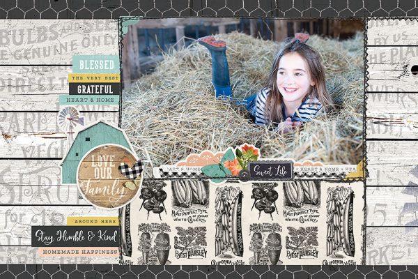 Katie Pertiet Designs Farmhouse Garden
