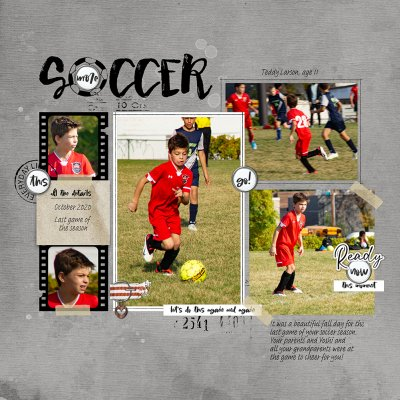Get Inspired: Final Soccer Game