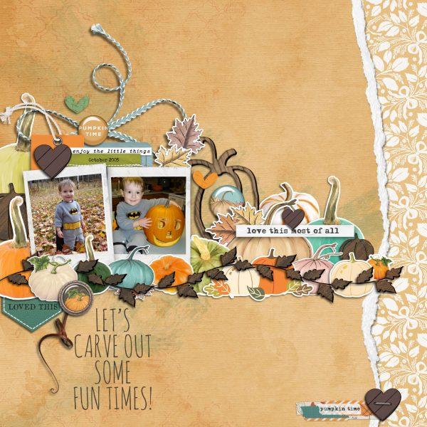 Katie Pertiet Designs Digital Scrapbook