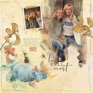 Katie Pertiet Designs Scrapbooking Page