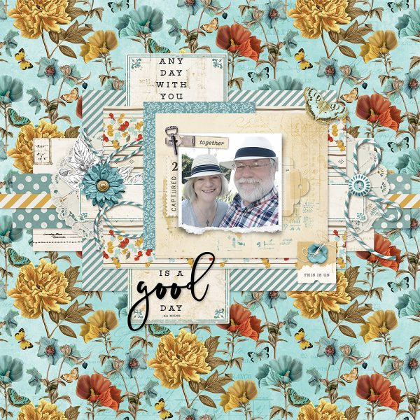 Katie Pertiet Designs Digital Scrapbooking Layout