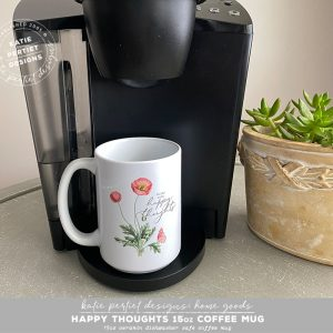 Katie Pertiet Designs Coffee Mug