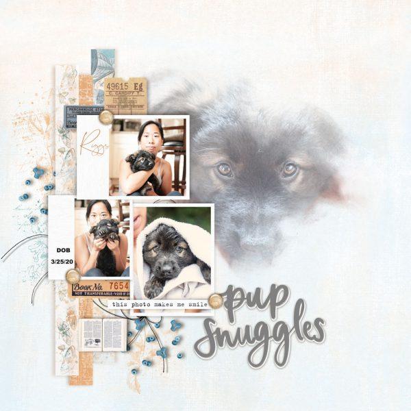 Katie Pertiet Designs Scrapbook Pages