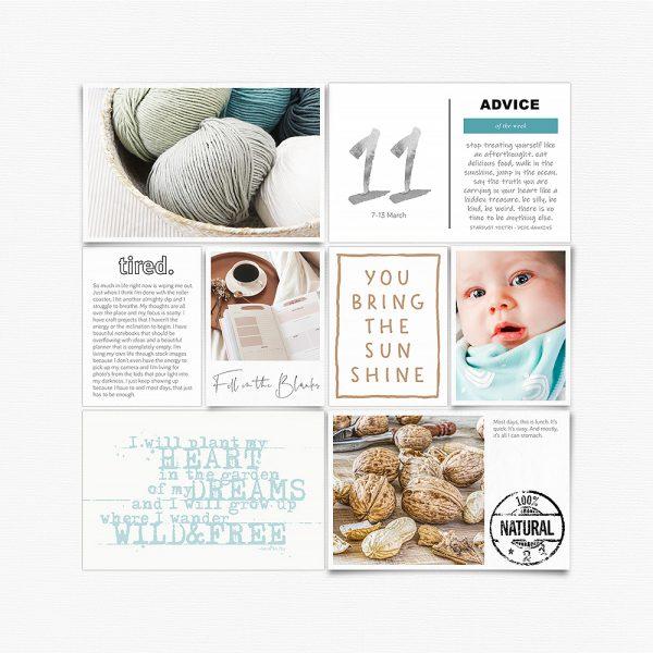 Katie Pertiet Designs Scrapbook Layout