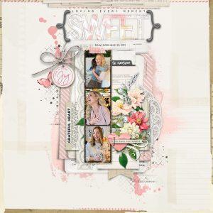 Katie Pertiet Designs Digital Scrapbook Layout