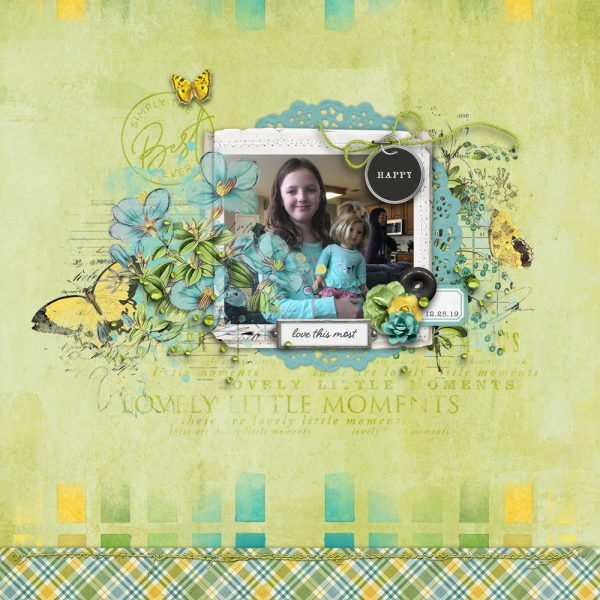 Katie Pertiet Designs Digital Scrapbook Layout