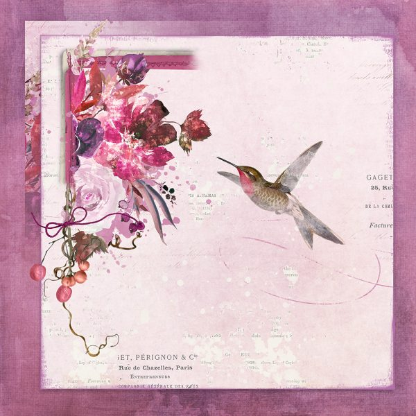 Katie Pertiet Designs Scrapbook Layout