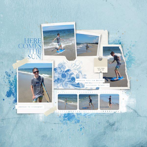 Katie Pertiet Designs Digital Scrapbooking